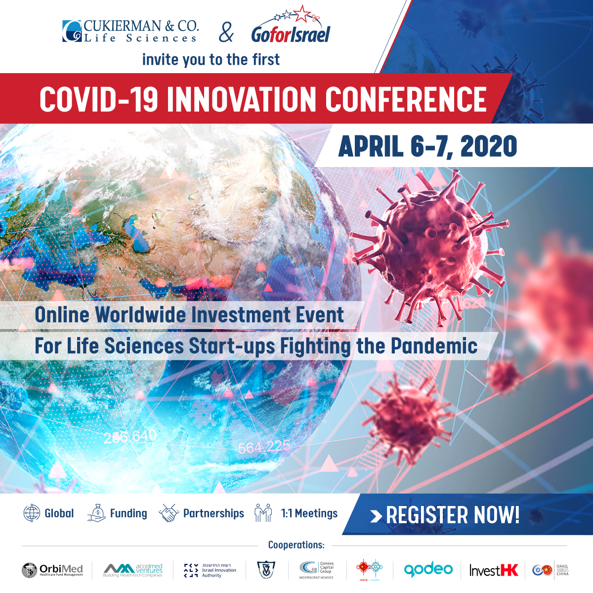 Covid-19 Innovation Conference - Worldwide Online Investment Event